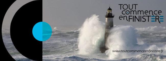 """Bandeau de la marque """"Tout commence en Finistère"""""""